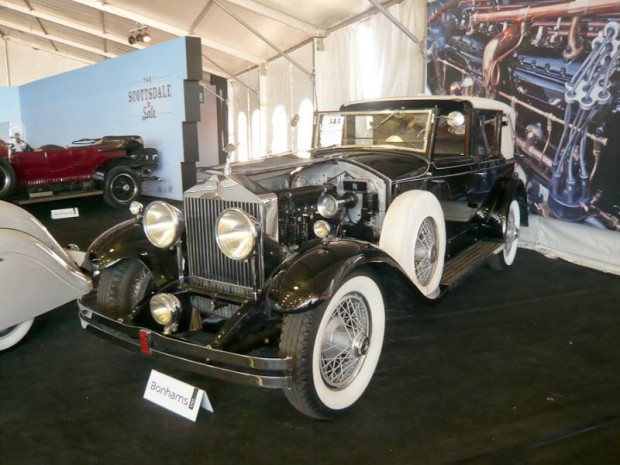 1932 Rolls-Royce Phantom I Trouville Towncar