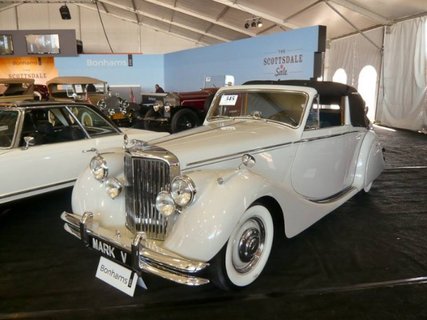 1951 Jaguar Mk V Three Position Drophead Coupe