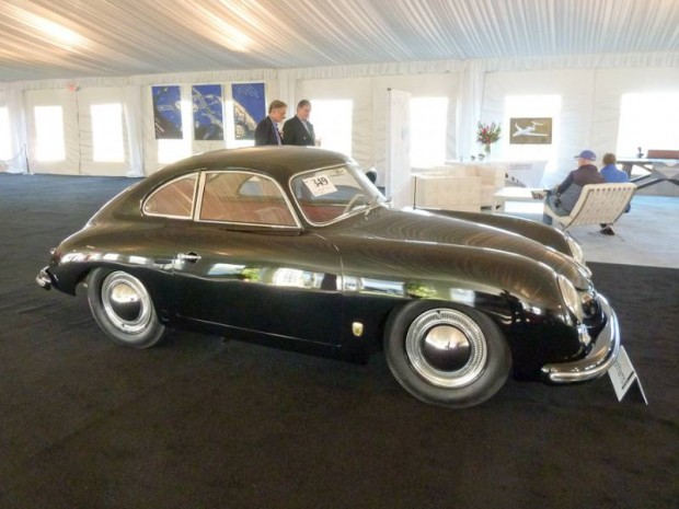 1954 Porsche 356 Coupe Bent Window