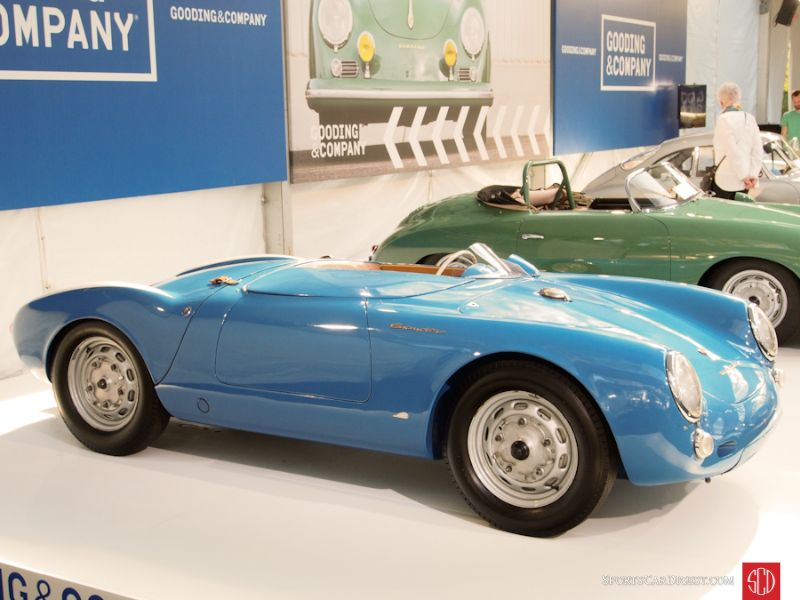 1955 Porsche 550 Spyder, Body by Wendler