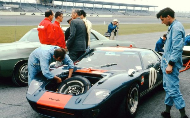 John Wyer Ford GT40 Dick Thompson Jacky Ickx photo