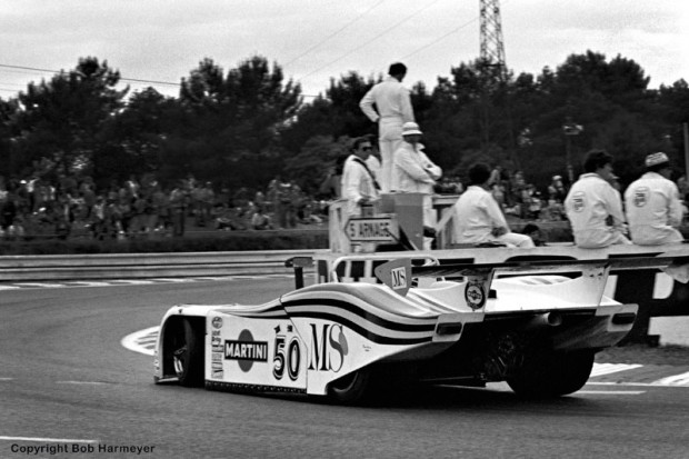 Hans Heyer, Riccardo Patrese and Piercarlo Ghinzani completed the most laps in the Group 6 category -- but weren't running at the finish and weren't credited with a class victory. There were only three Group 6 entries in 1982, and all had dropped out before half-distance.