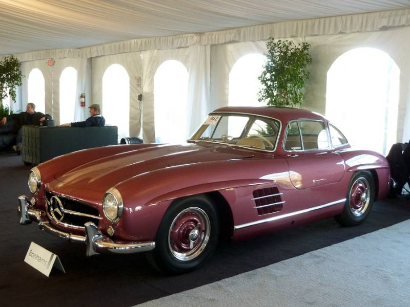 Bonhams scottsdale 2013 auction report for Mercedes benz north scottsdale