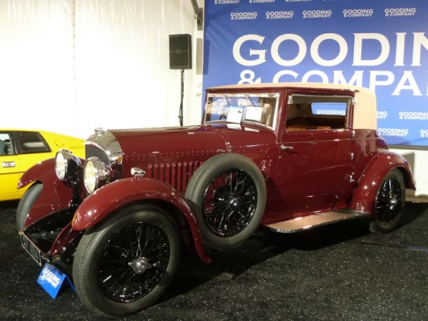 1928 Bentley 4.5 Liter British Flexible Coupe for sale