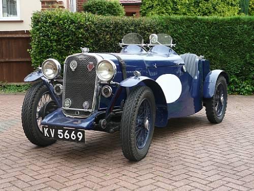 1933 Singer Nine Sports Team Car