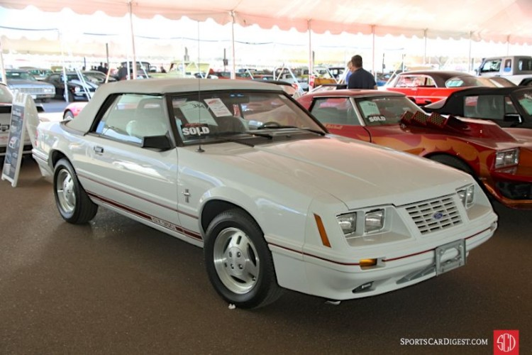 1984 Ford Mustang 5.0 GT Convertible