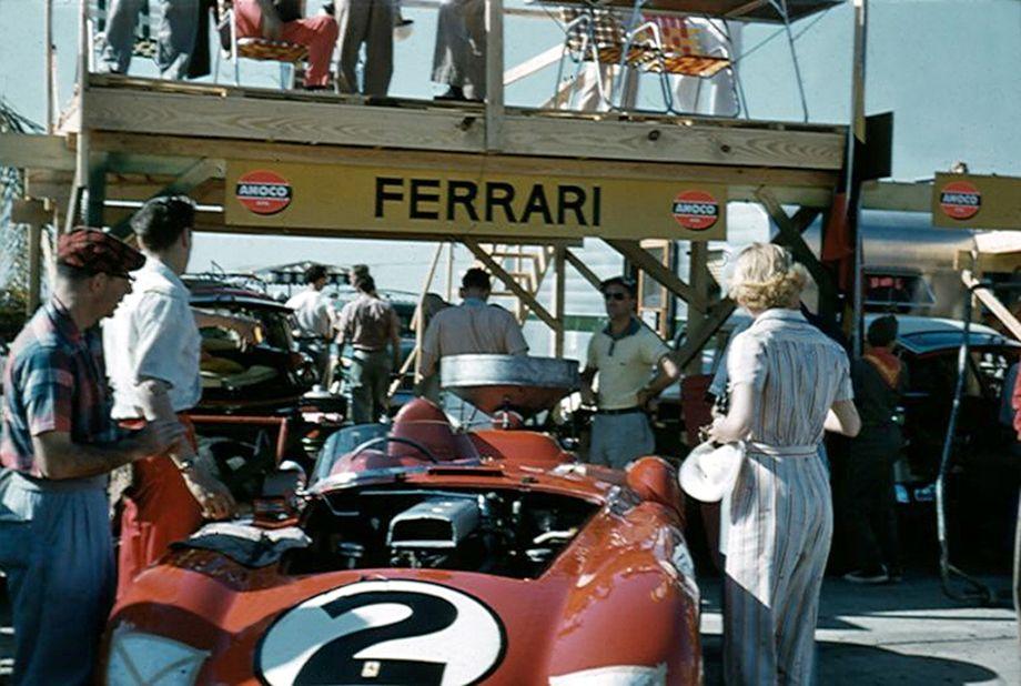 Ferrari 375 Plus at Sebring 12 Hours 1956