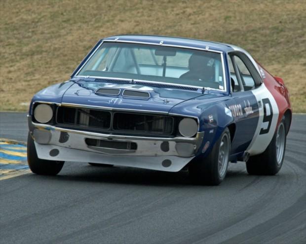 Group 8 Winner Bruce Canepa driving his 1970 AMC Javelin