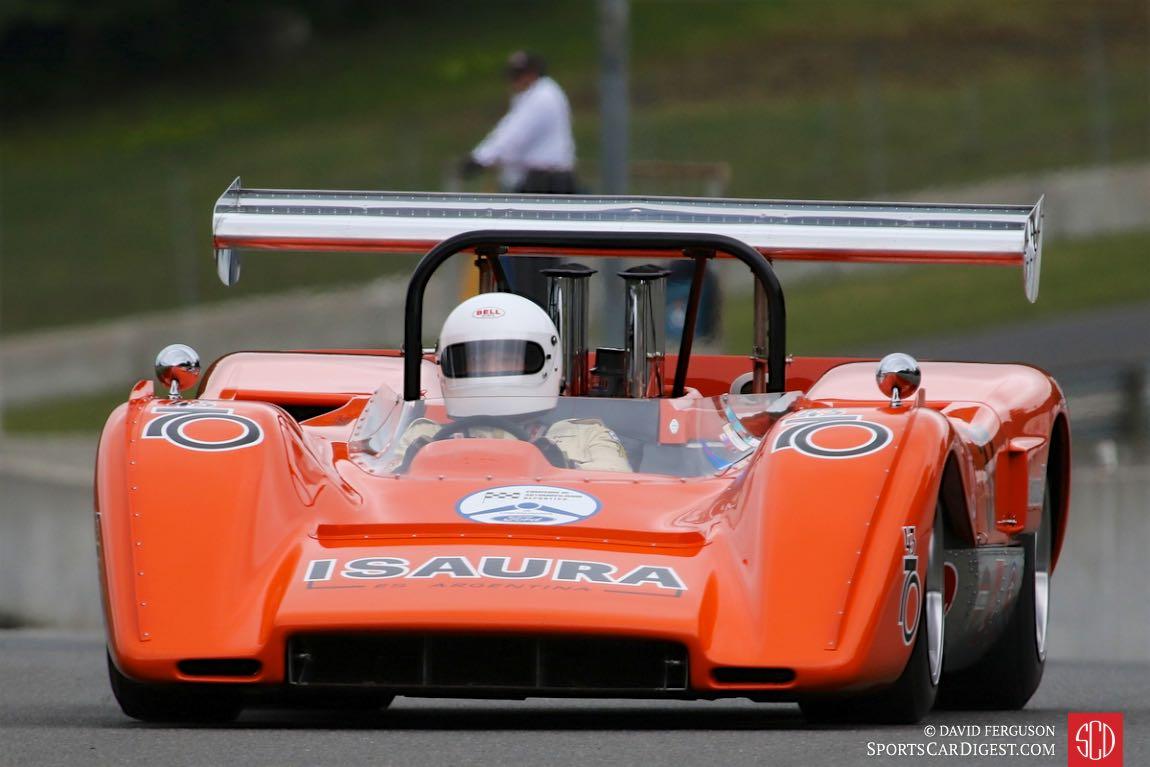 Nick Colonna's 1970 McLaren M8C has the starter's attention.