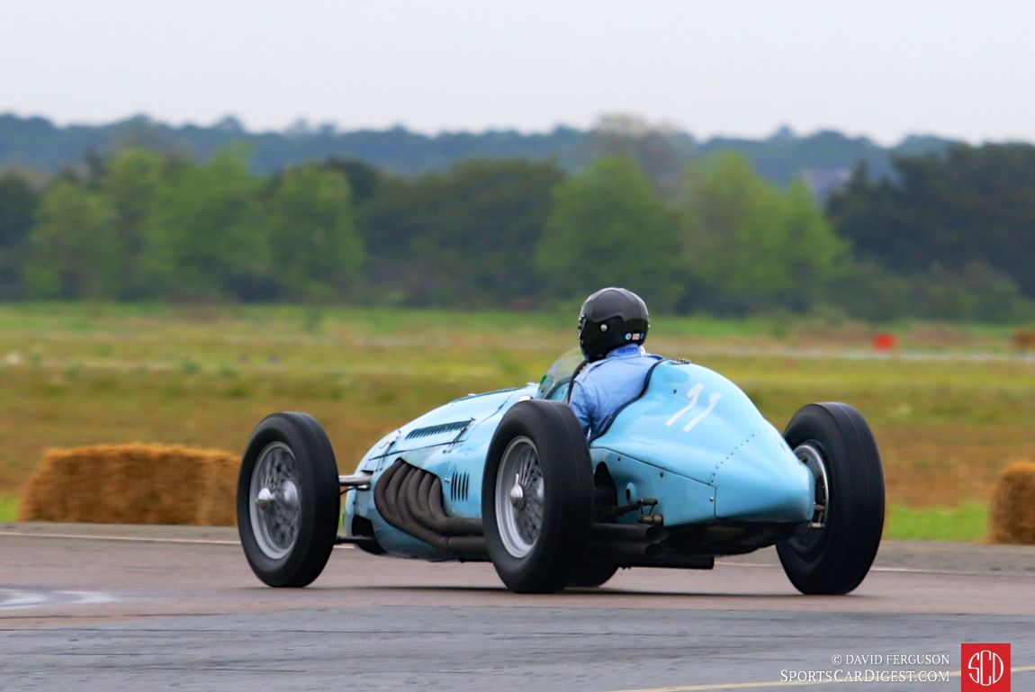 Denis Bigioni in the 1948 Talbot-Lago T26C