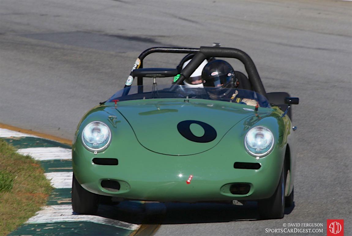 Looks like George F. Balbach, 60 Porsche 356B, has a back seat driver.