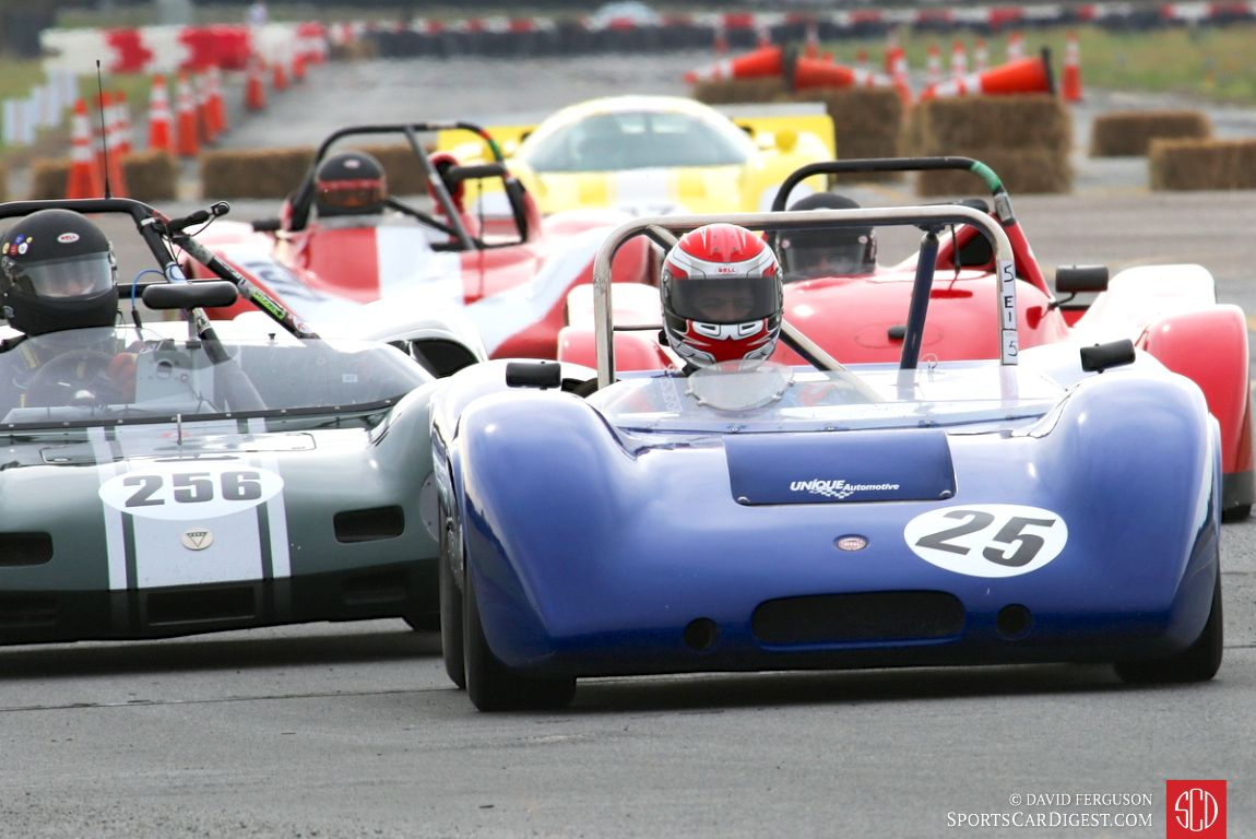 David Baugham leads the group in his 1969 Nerus F100