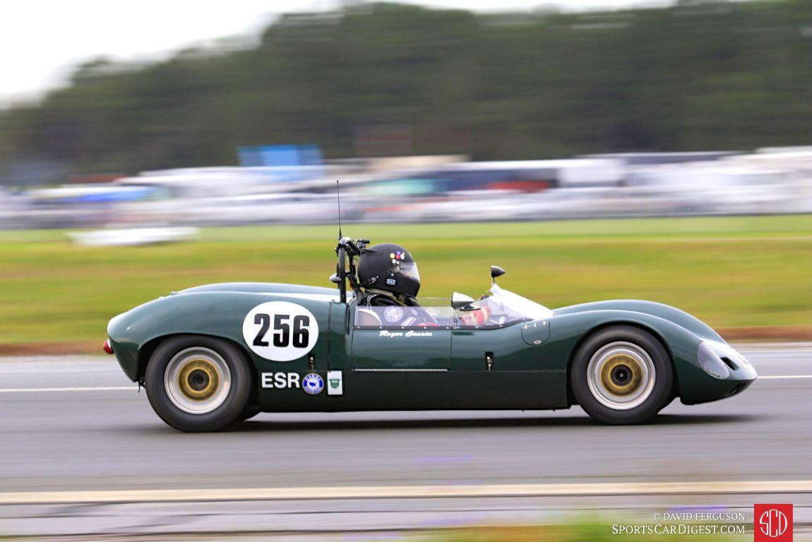 The 1964 Elva Mk 7S of Roger Cassin