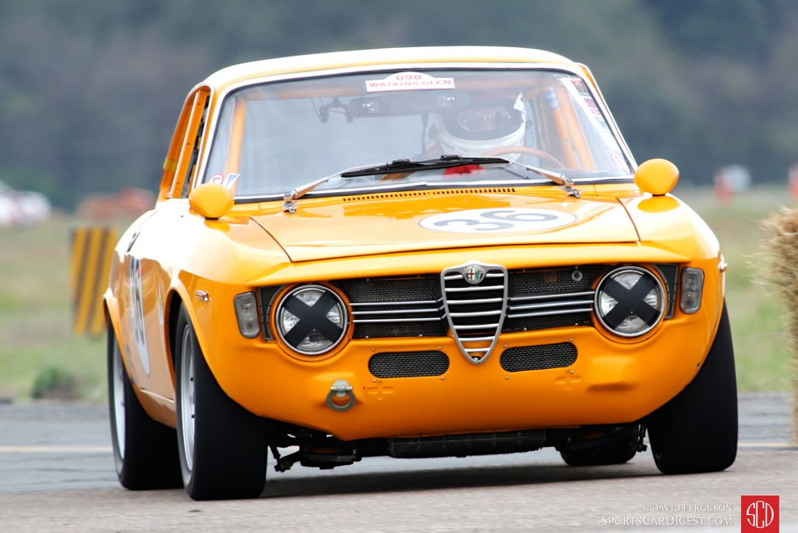 Will Painter in the 1966 Alfa Romeo GTV