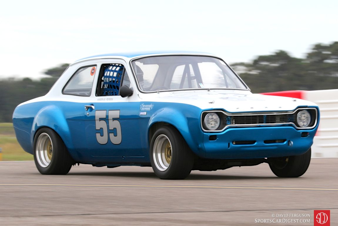 The 1969 Ford Escort Mk I of Karen Perrin
