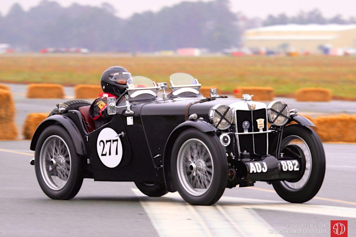 A 1934 MG PA of Michael Bartell