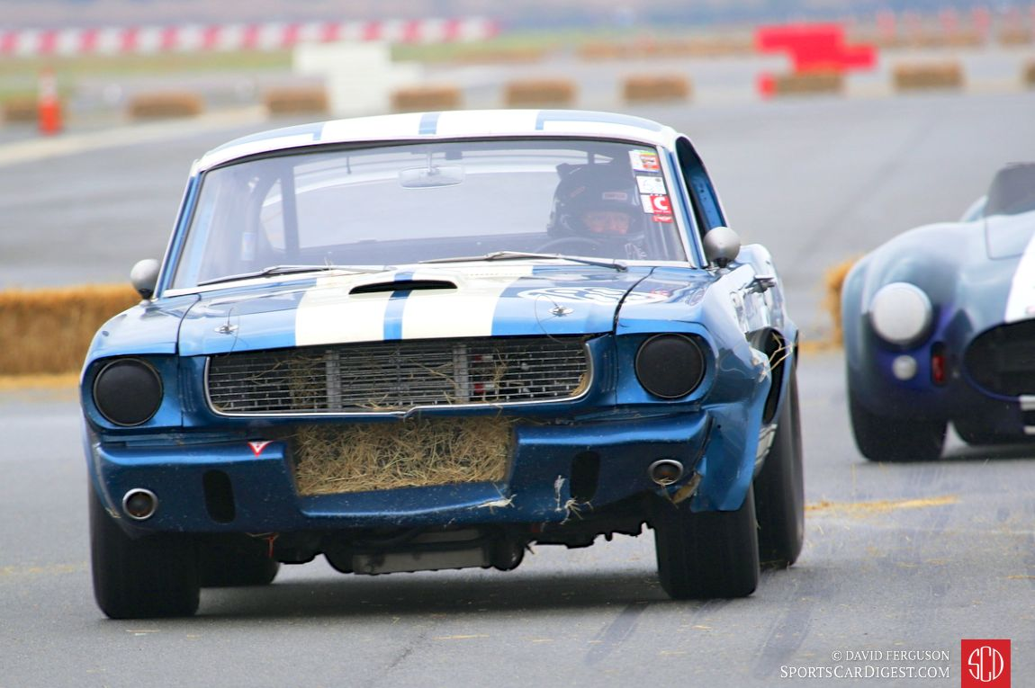 Roy Allen's 1966 Shelby GT350 after ingesting the hay bale