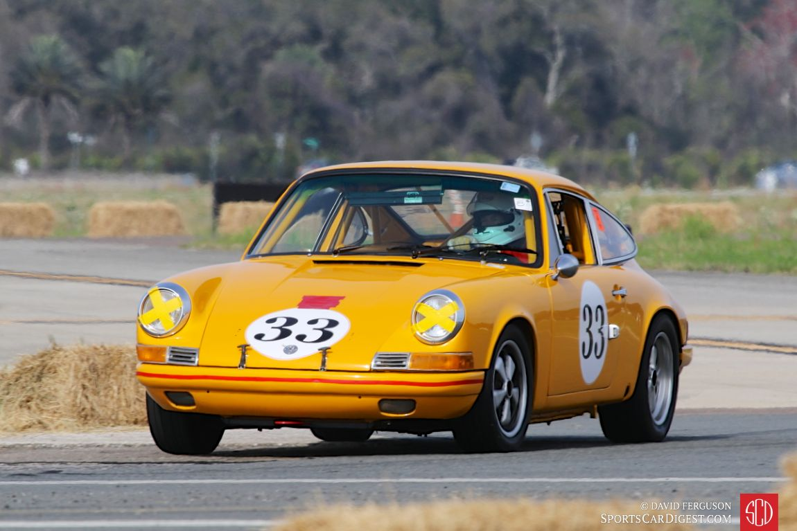 The 1969 Porsche 911 T piloted by Chester Hawley III