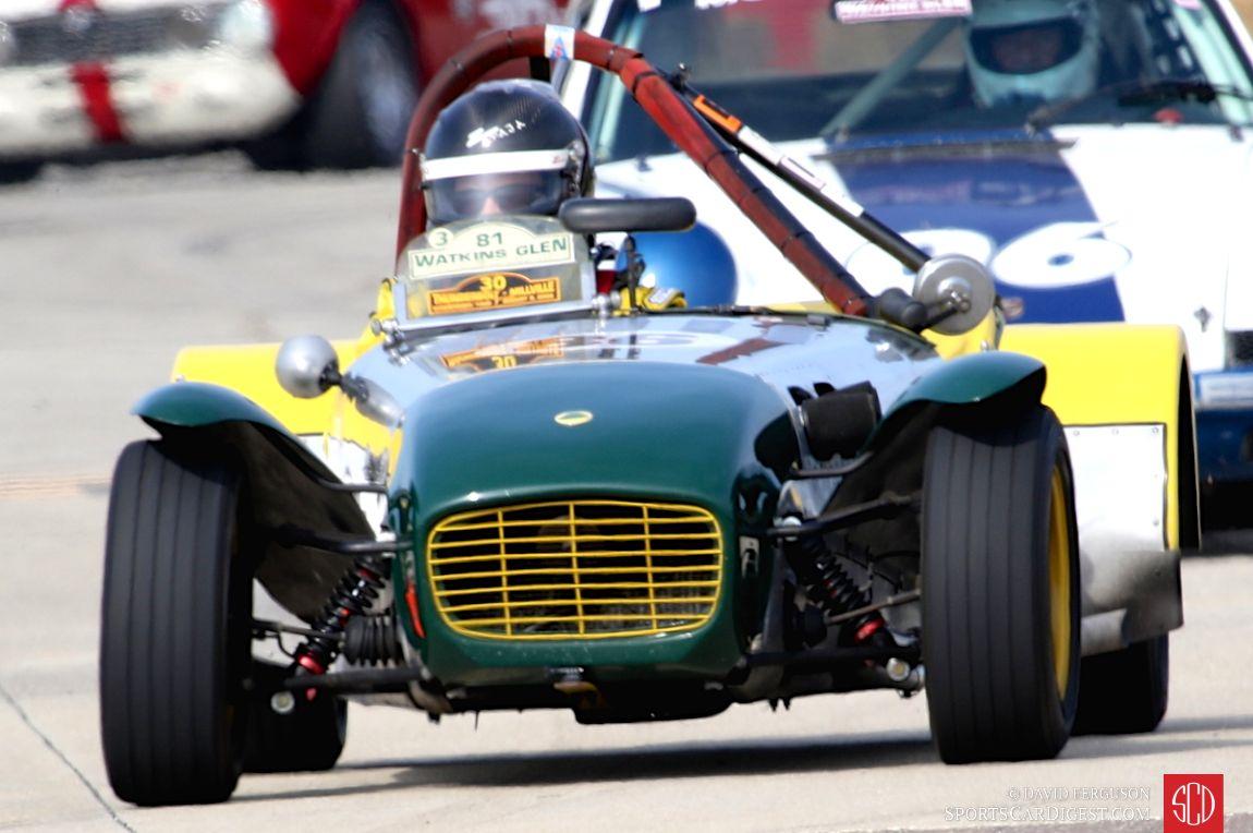 The 1961 Lotus Super 7 of Charles Kate Jr.