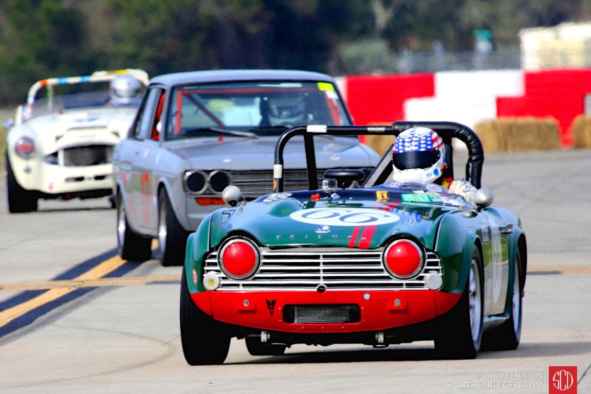 Warren Alpin's 1962 Triumph TR4