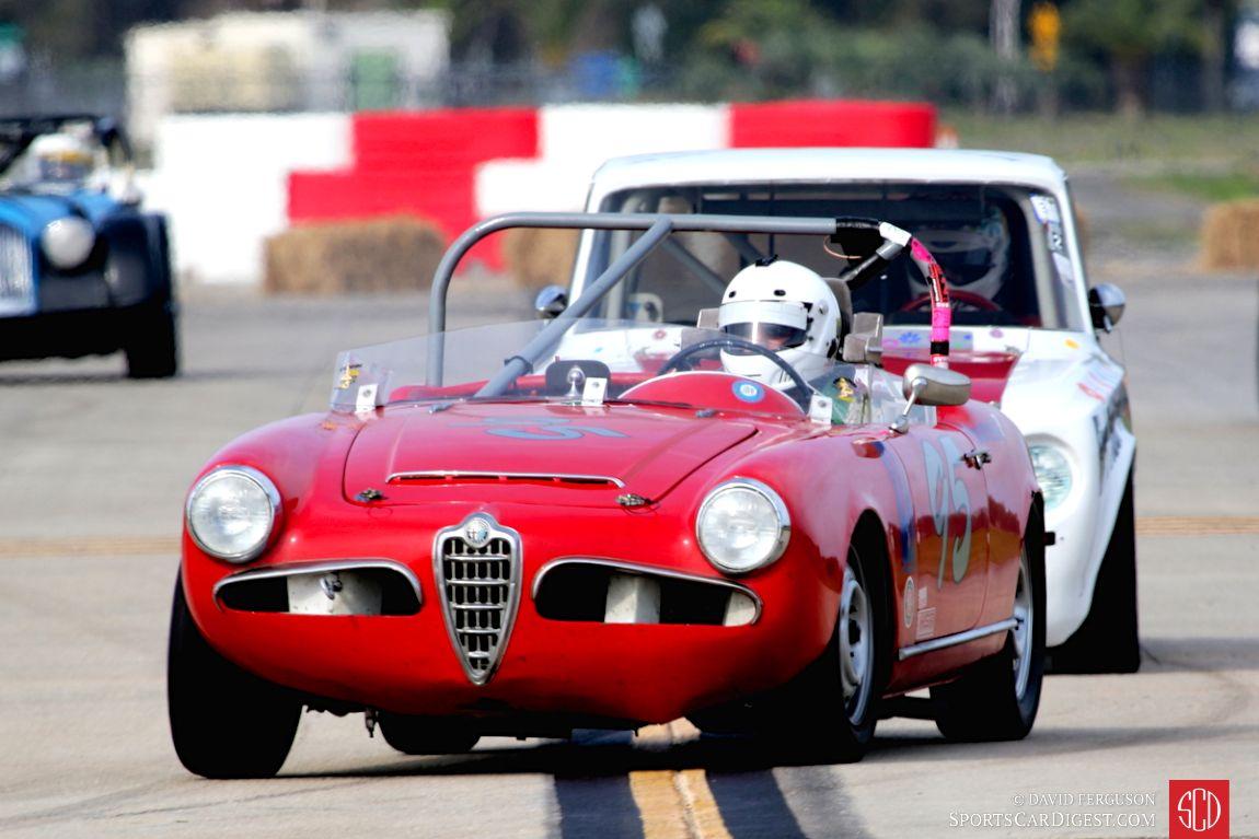 The 1960 Alfa Romeo Giulia Spider of Steven Piantieri
