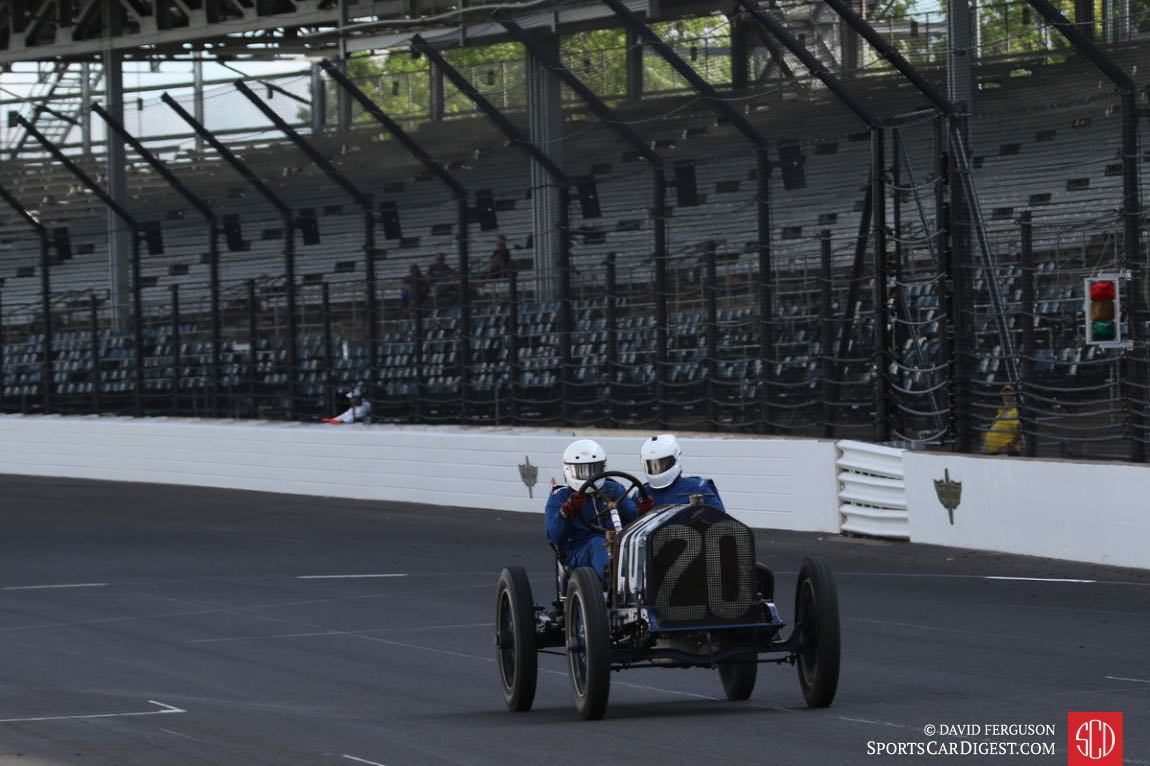 Brian Blain's 1911 National ran in the first Indy 500.