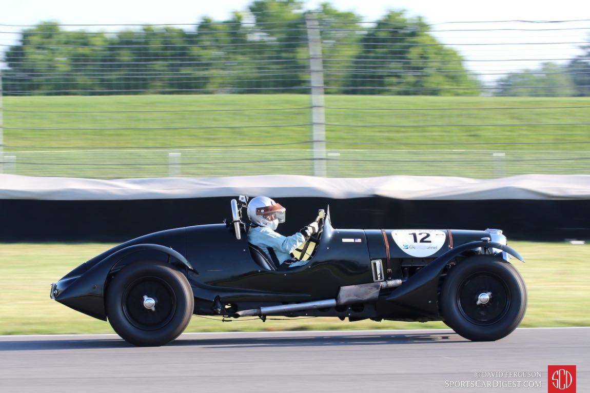 Richard Morrison, 39 Lagonda V12 LeMans rep