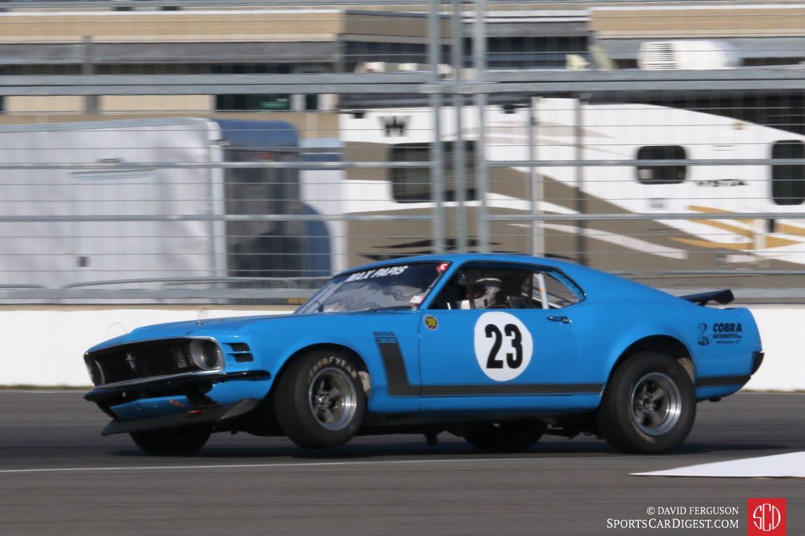 Cirt Vogt, 70 Ford Mustang Boss 302