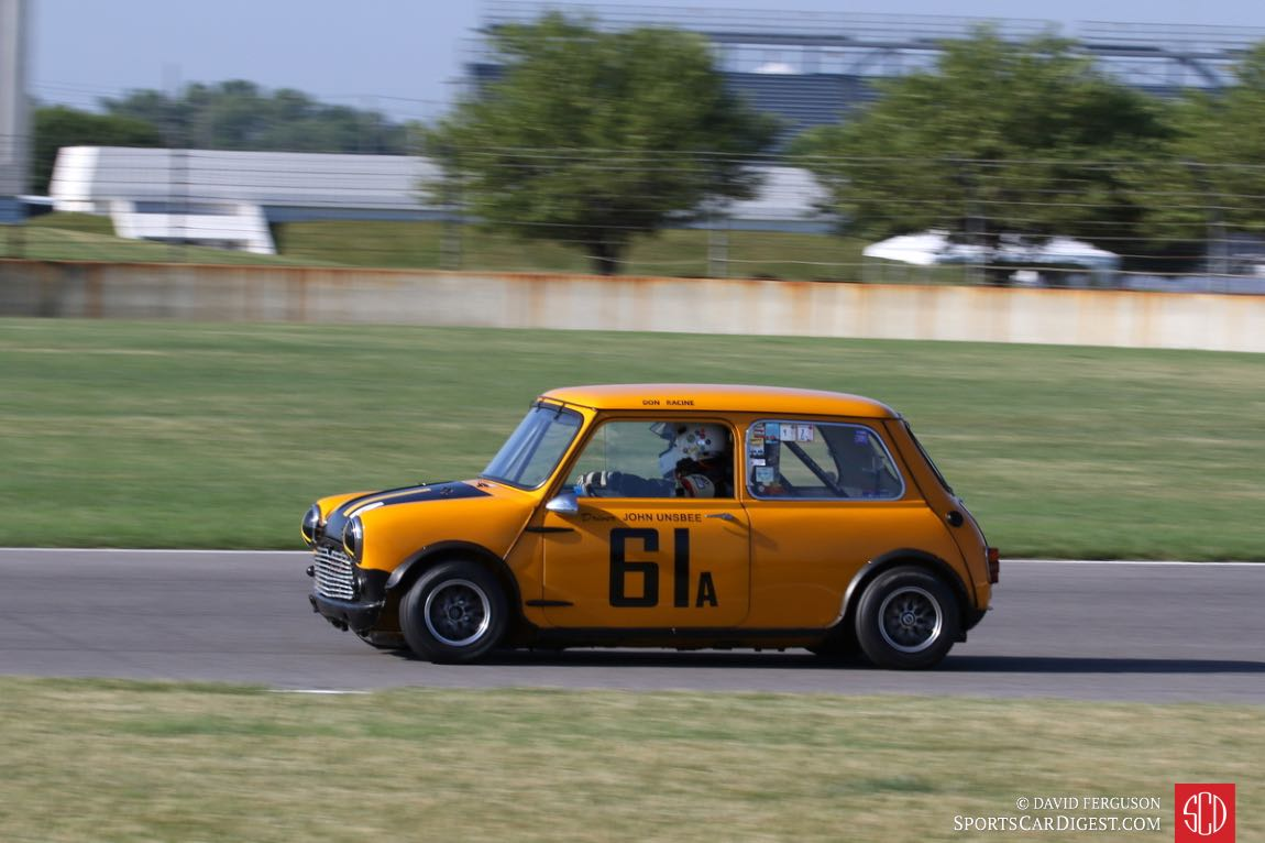 Donald Racine, 61 Austin Mini Cooper S