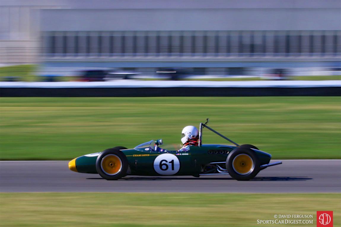 Bob Koons, 61 Lotus 20