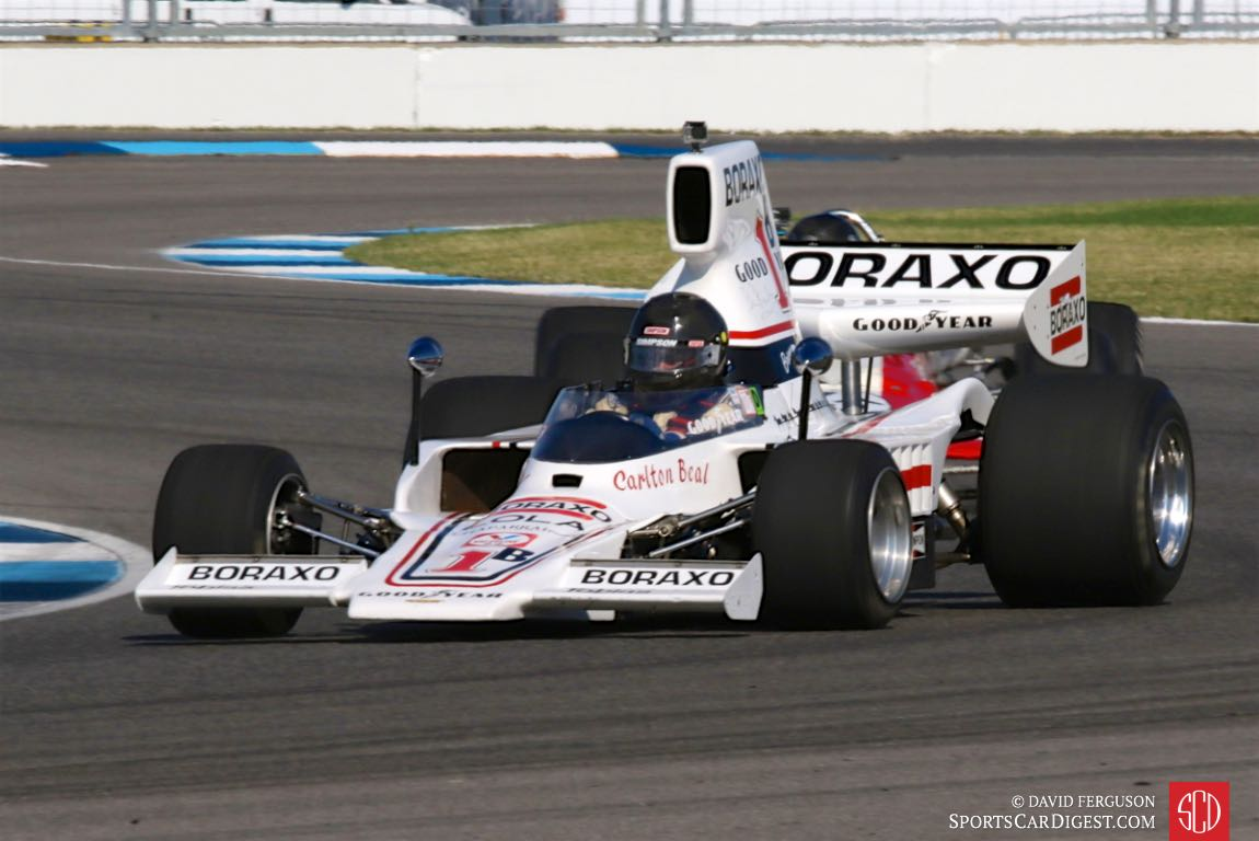 Charles Parsons, 76 Lola T332C