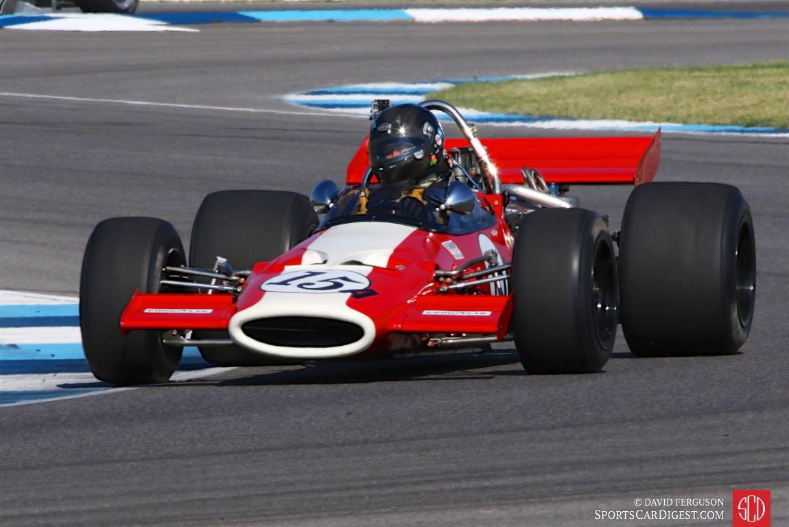 George Frey, 69 McLaren M10A