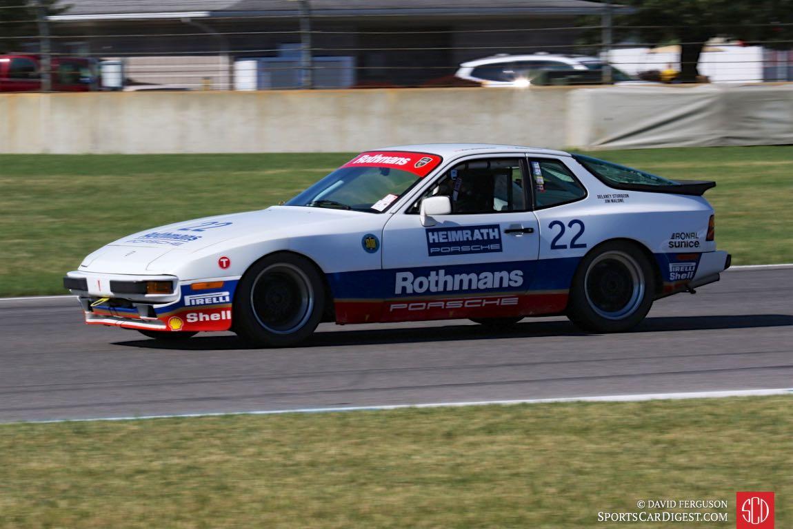 Delaney Sturgeon, 86 Porsche Rothman Cup 944