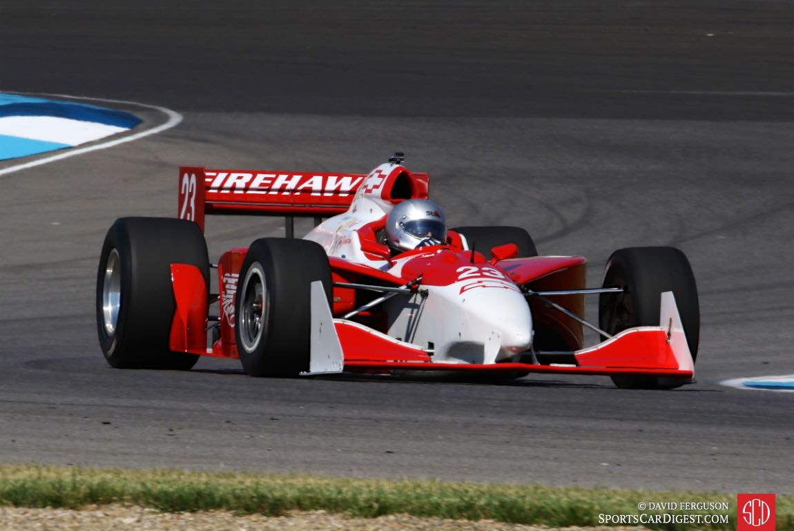 Jim Johnston, 02 G Force Indy Car