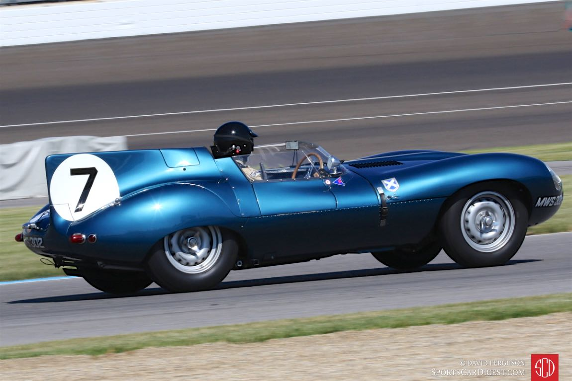Chris MacAllister, 1955 Jaguar D-Type