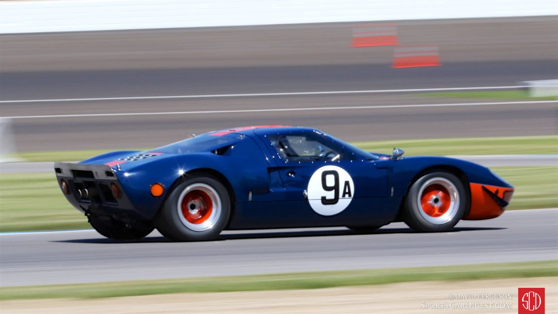 Alex MacAllister, 66 Ford GT40