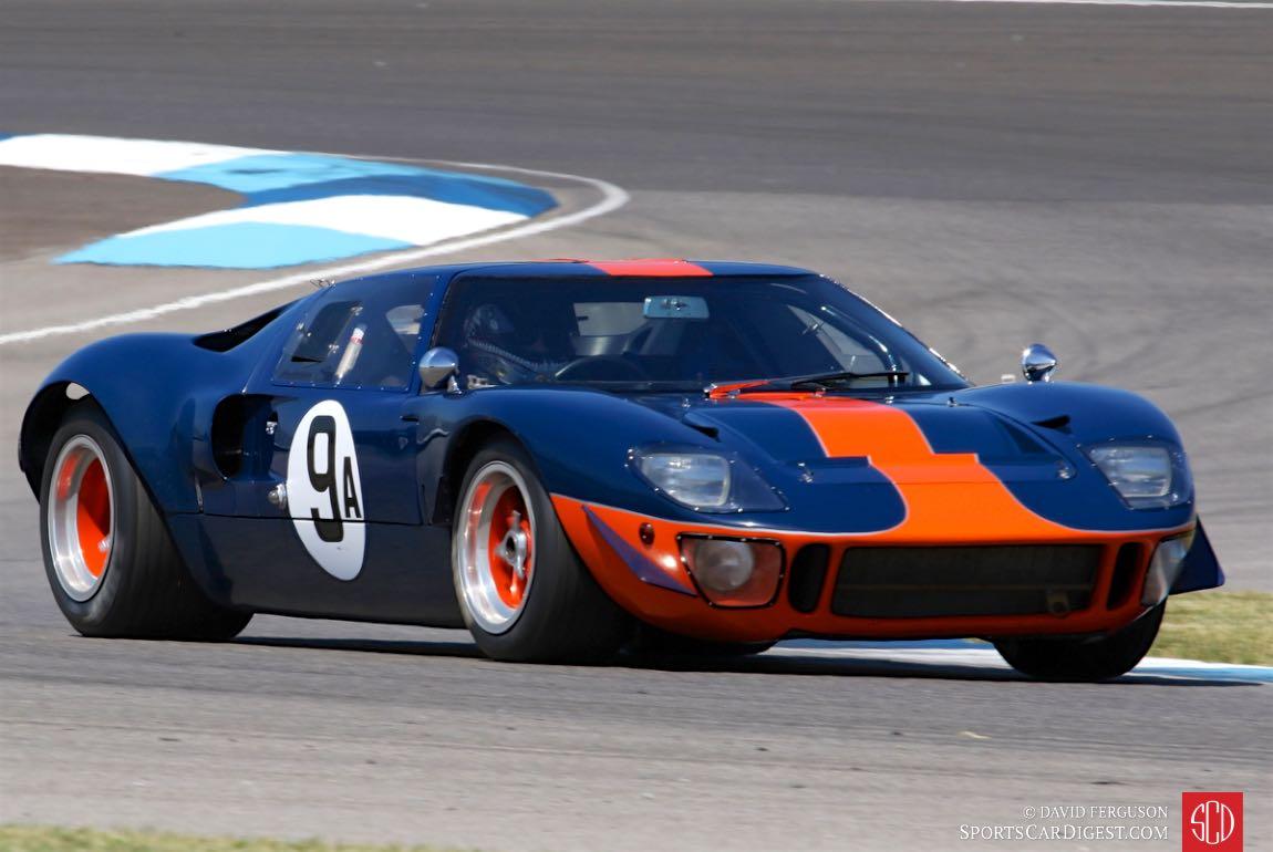 Alex MacAllister, 66 Ford GT40