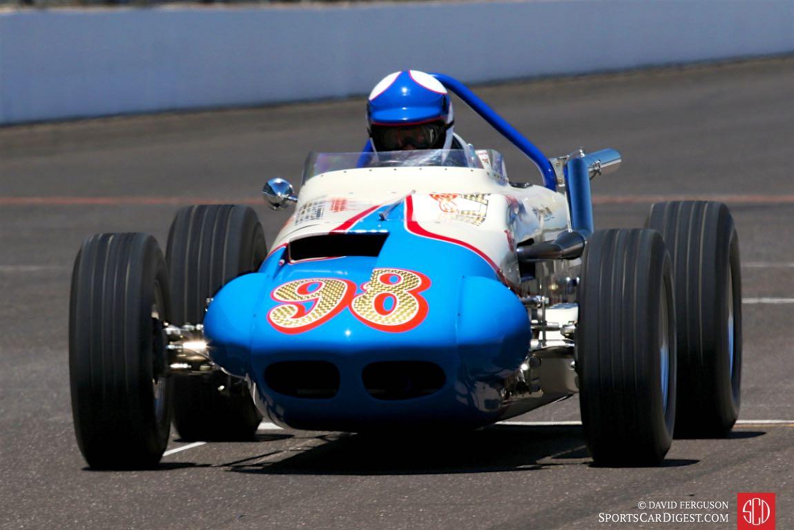 Robert Dicks, 63 Watson Roadster