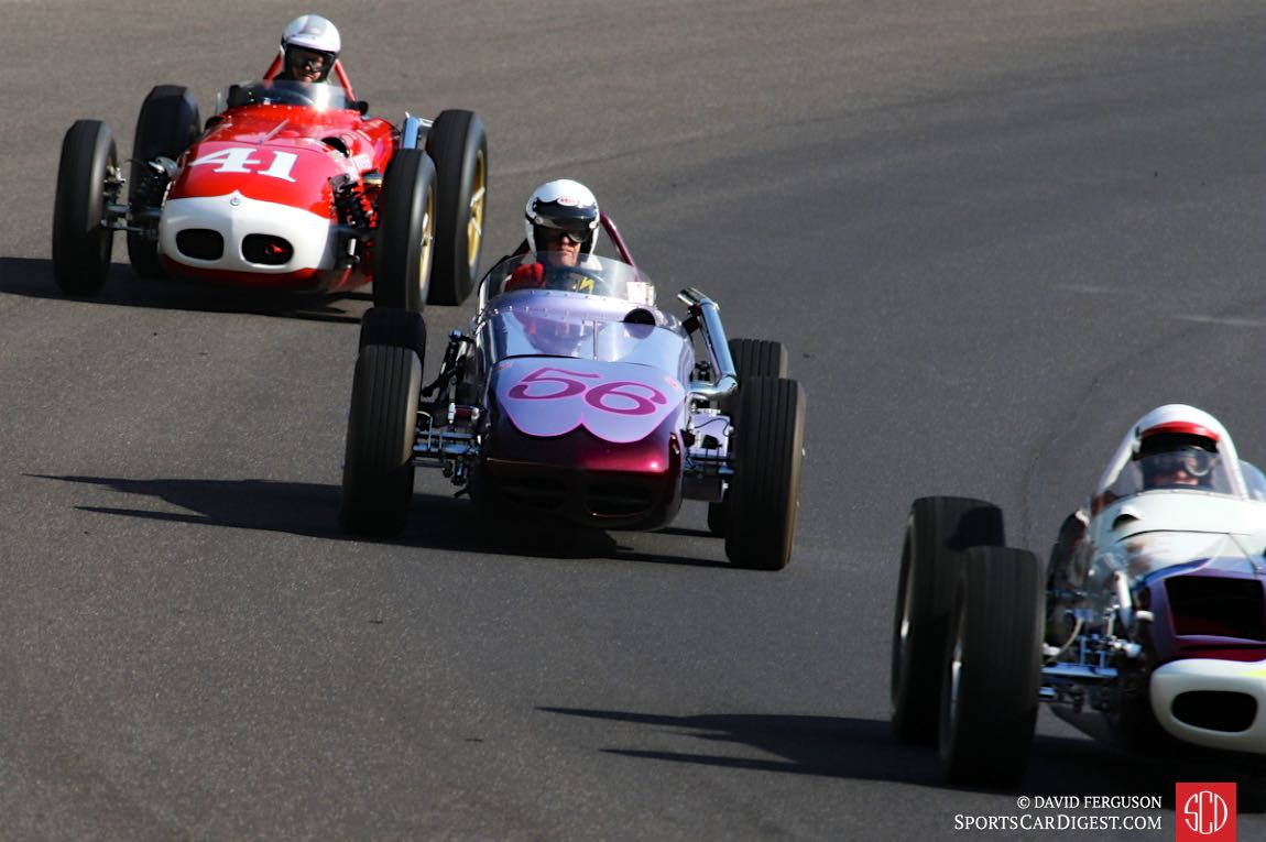 Indy Roadsters on the banking