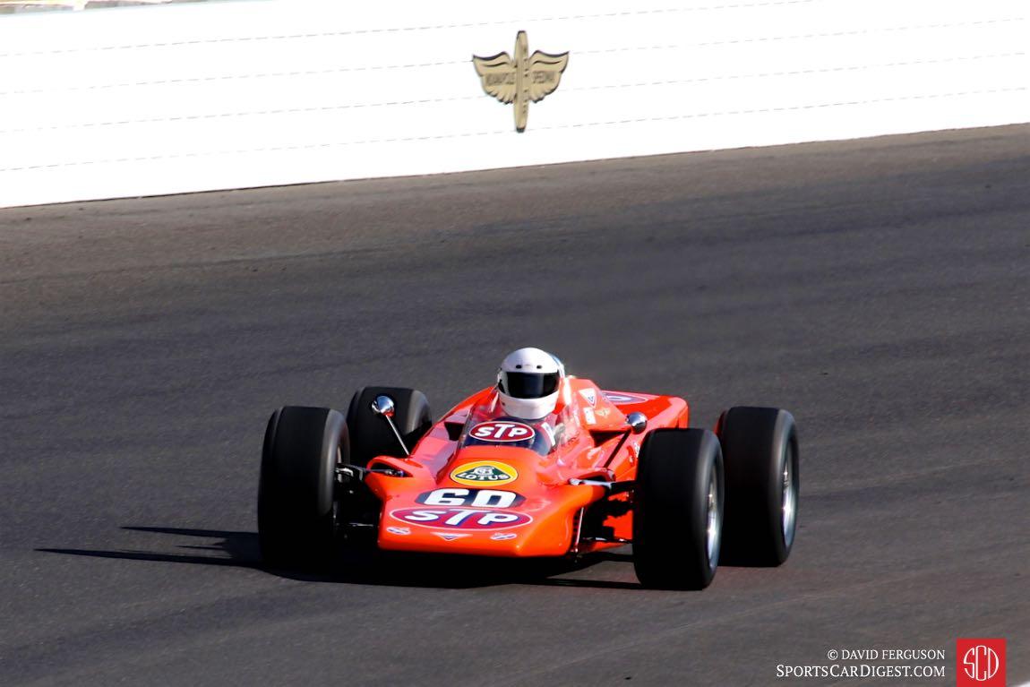 Bruce Linsmeyer, 68 Lotus 56 Turbine Indy Car