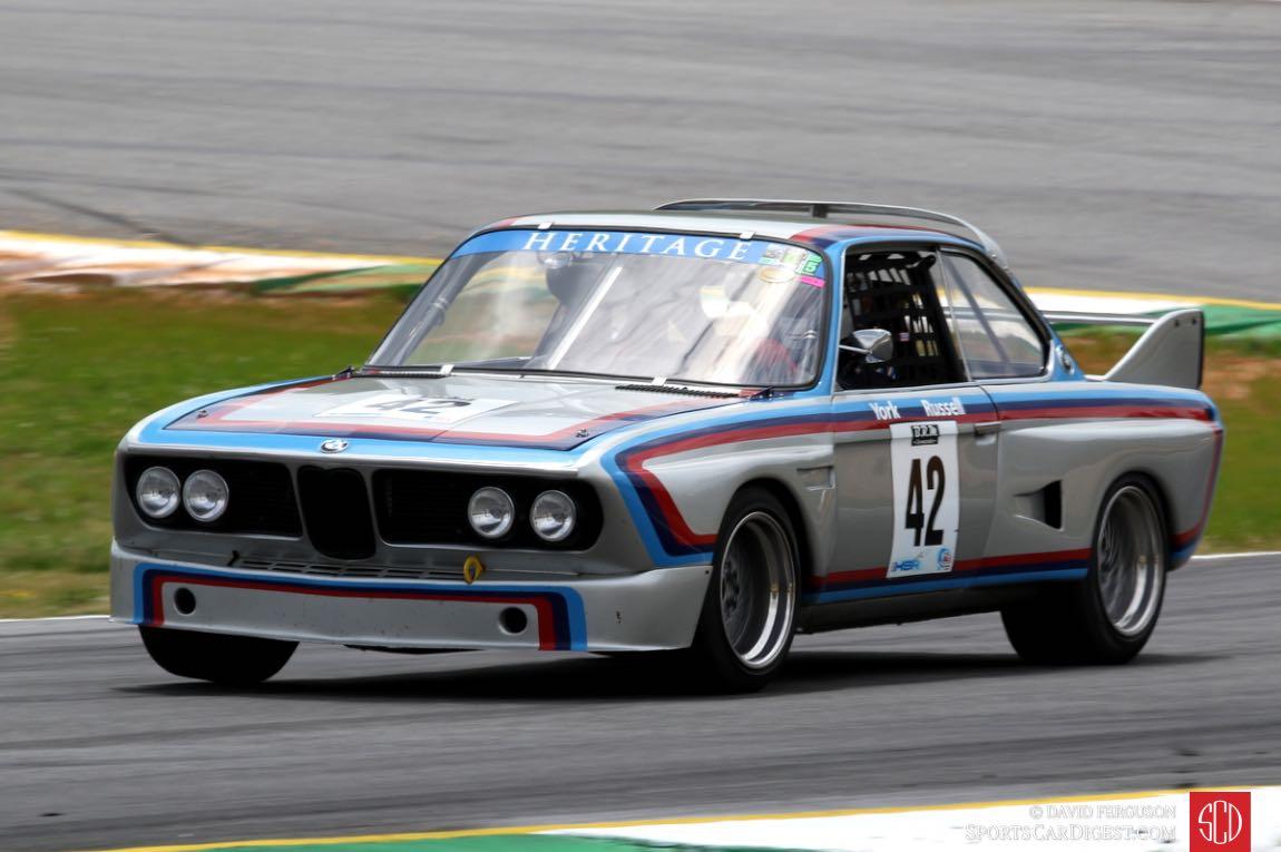 Dick York, 73 BMW CSL 3500