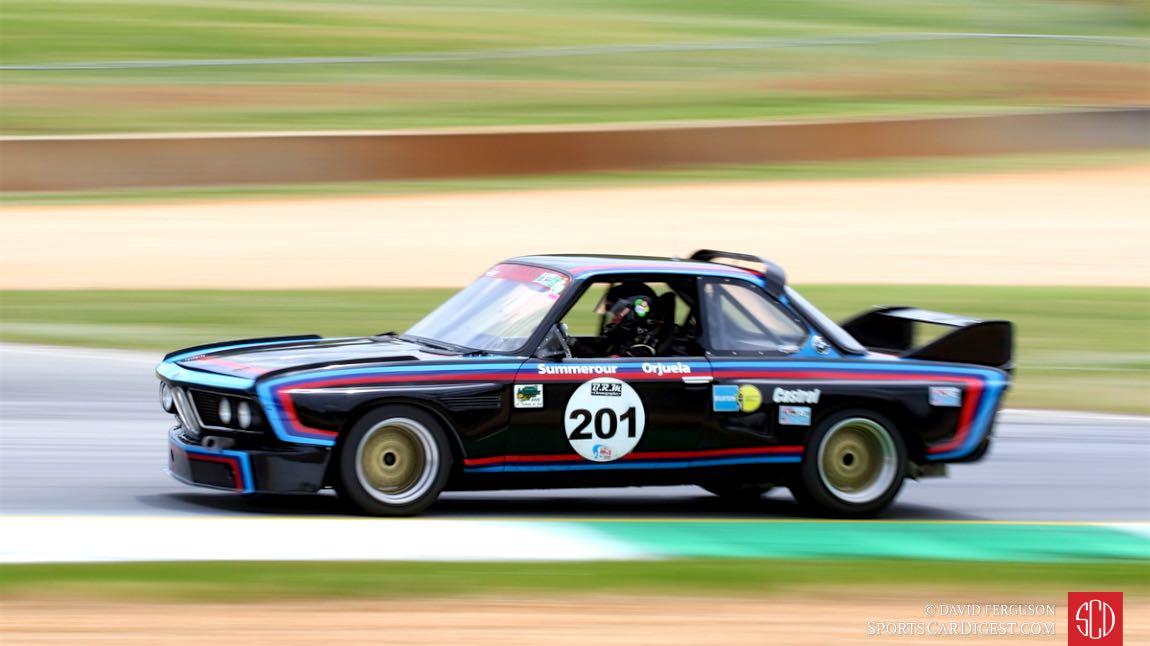 Bob Summerour, 73 BMW CSL 3500