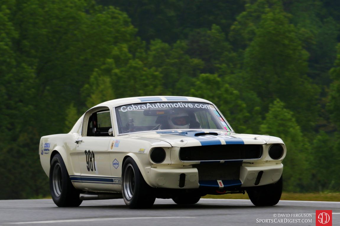 Gary Moore, 66 Shelby GT350