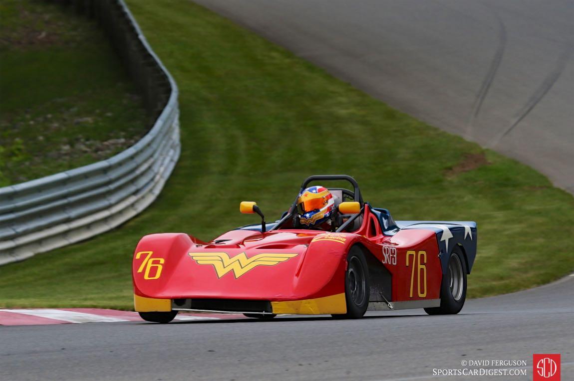 Amber Stephenson, 84 Ford Spec Racer