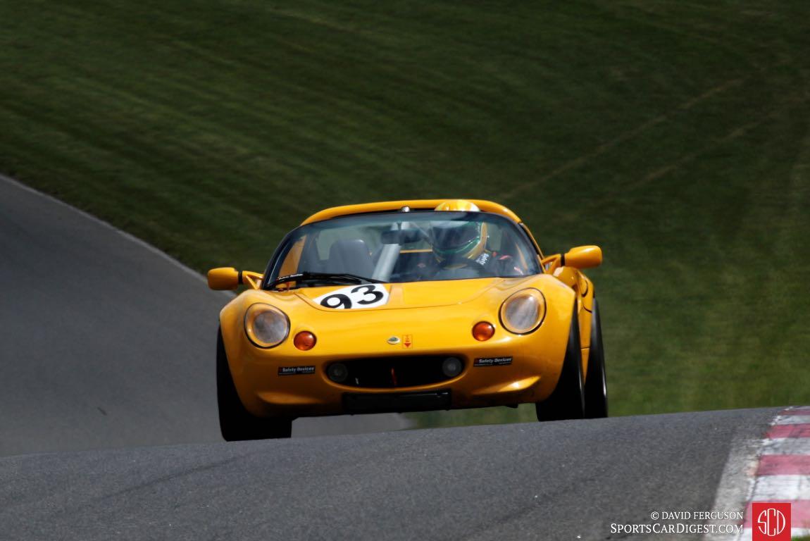Andrew Barron, 98 Lotus Elise