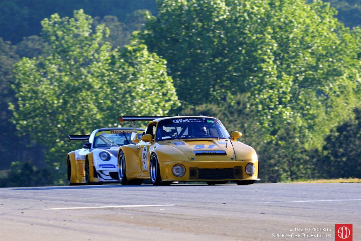 Hartmut VonSeelen, 74 Porsche 911 RSR