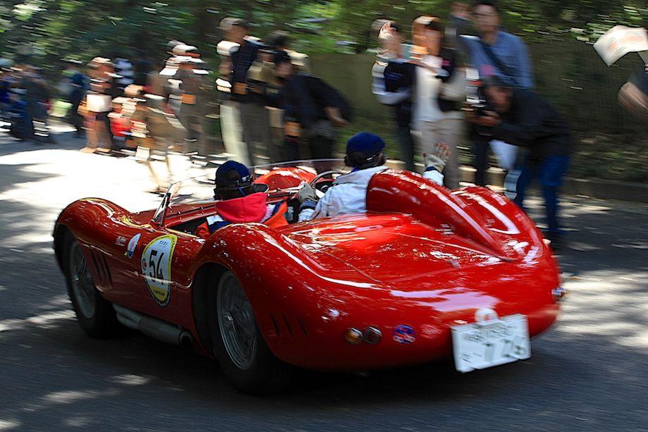 1957 Maserati 200 SI, Departure, La Festa Mille Miglia 2013