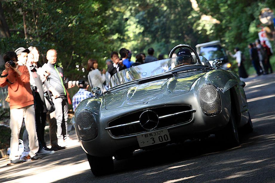 1957 Mercedes-Benz 300 SLS, Departure, La Festa Mille Miglia 2013