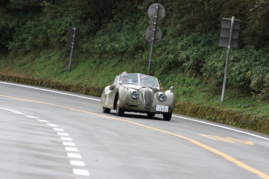 1951 Jaguar XK120 Roadster, La Festa Mille Miglia 2013