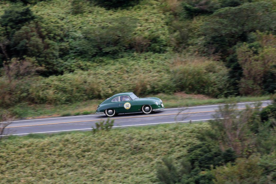 1951 Porsche 356 Pre-A, La Festa Mille Miglia 2013